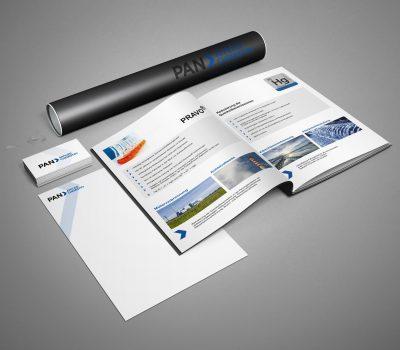 PAN APPLIED CHEMISTRY GmbH – Visitenkarten und Briefpapier erstellt und gedruckt.